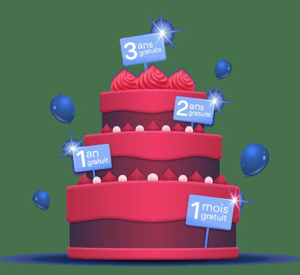 hero cake red fr