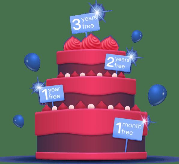 hero cake red