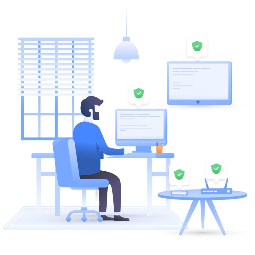 NordVPN VPN Premuim 1 Year man room devices secured