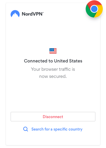Chrome的VPN
