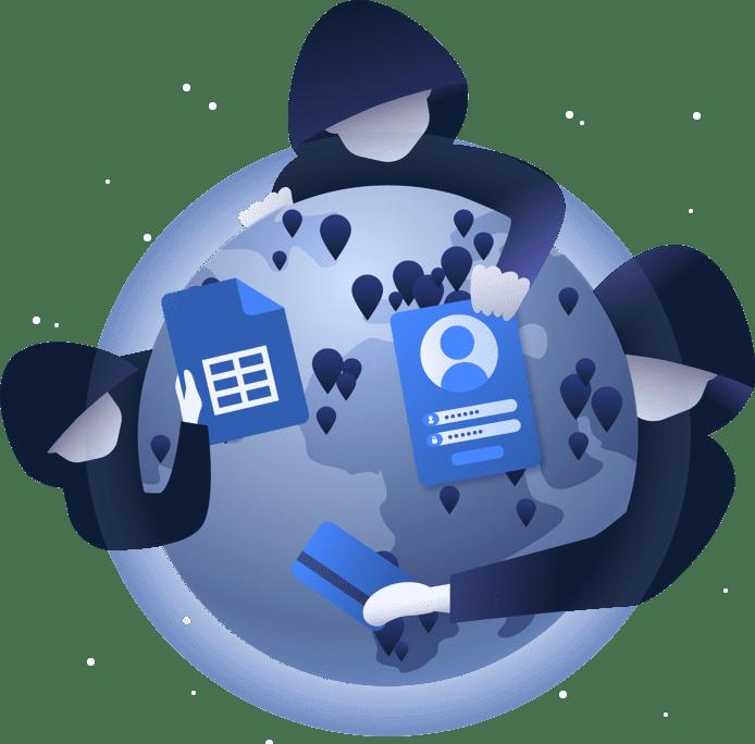hero hacker world globe