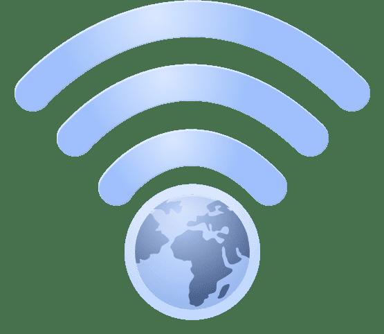 wifi world globe