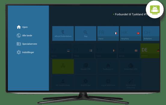 VPN til Android TV