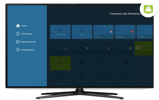 vpn Android TV