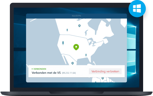 NordVPN-app voor Windows