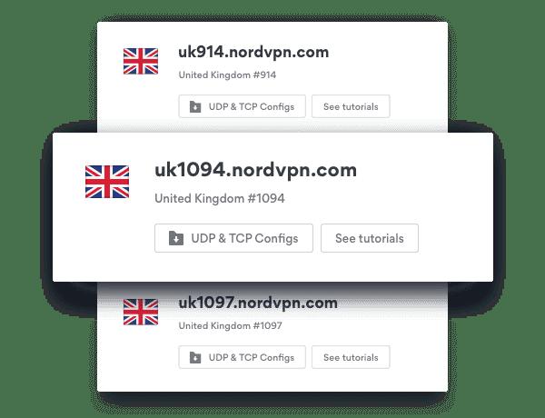 VPN UK Server