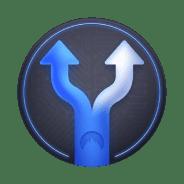 split tunneling arrows