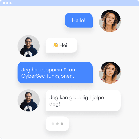 chat support no