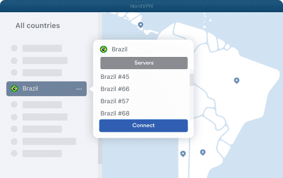 NordVPN Brazil Servers