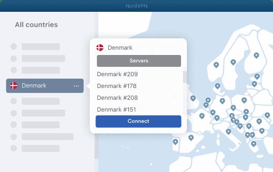 NordVPN Denmark Servers