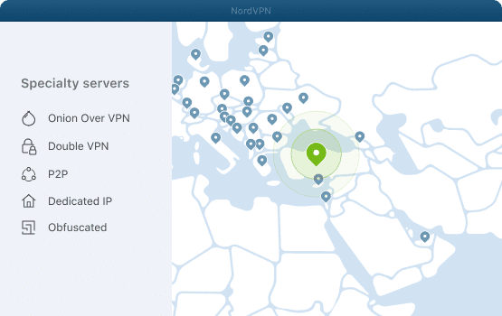 NordVPN specialty servers for Turkey