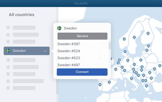 VPN Sweden